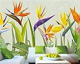 sshssh Papier Peint Personnalisé 3D Salon Main Dessinée Plante Tropicale Rainforest Palm Feuilles Mur Fond 3D Peintures Murales De Papier Peint 2019 Tapisserie Photo 3D-300x250CM