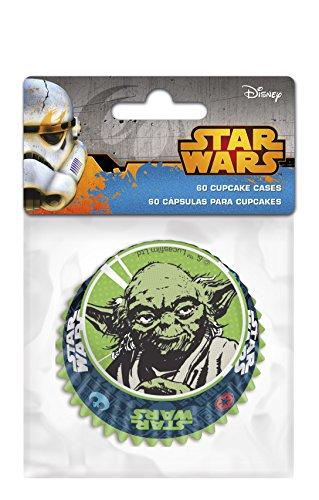 Boyz Toys Star Wars - 60 Cup Cake Cases (Dress Up Star Wars)