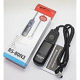 RS-80N3 RS80N3 Remote Switch for Canon EOS 7D 1D 1DS 5D 5DII 5DIII 50D 40D 6D 1D