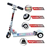 Zest 4 Toyz Kids Skate Scooter with 3 Wheels and 3 Position Adjustable