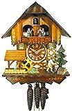 Schwarzwälder Kuckucksuhr/Schwarzwald-Uhr (original, zertifiziert), Haus, Musik, 1-Tag-Werk, mechanisch, Kukusuhr, Kukuksuhr, Kuckuksuhr