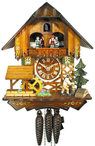 Orologio a cucù nero foreste/foresta nera orologio (original, certificata), casa, musica, 1giorno di artificio, meccanico, kukus orologio, kukuks orologio, kuckuks orologio