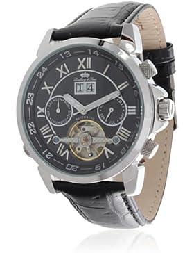 Lindberg&Sons Herren-Armbanduhr XL Agora - Special Edition Analog Automatik Leder LS13G34