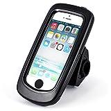 Support pour vélo Arendo pour iPhone 5/5S/SE - idéal pour votre prochaine randonnée à vélo ou vos autres activités en extérieur !   Avec le support pour vélo Arendo de qualité supérieure pour votre iPhone 5/5S/SE, vous le protégez  au mieux lors de v...