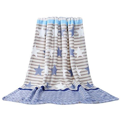 Colorful Kinderdecke, Super Weich Warm Micro Plüsch Fleecedecke, Decke für Kinder (G, 70 x 100 cm) (Micro-flanell-decke)
