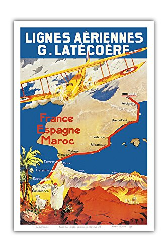 frankreich-spanien-marokko-aeropostale-fluggesellschaft-vintage-retro-fluggesellschaft-reise-plakat-