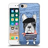 Ufficiale Barruf Bulldog Francese Cani Cover Retro Rigida per Apple iPhone 7 / 8