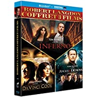Robert Langdon - Coffret 3 films : Da Vinci Code + Anges & démons + Inferno