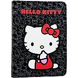 """E-Vitta Booklet - Funda para lector de eBooks de 6"""", diseño Hello Kitty, color negro"""