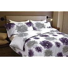 Funda nórdica Algodón 100% Flores CLAUDIA (Para cama de 150x190/200 (Nórdico de 240))