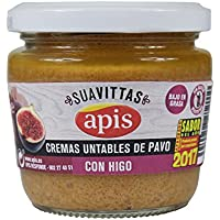 Apis Crema de Pavo con Higo - Paquete de 8 x 160 gr - Total: 1280 gr
