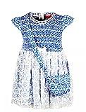 Chicabelle Girls Blue Cotton Dress
