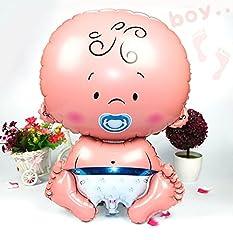 Idea Regalo - XL Neonato bimbo bimba palloncino per festa premaman battesimo neonato festa di compleanno palloncini