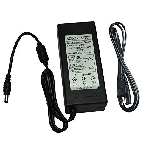 24V 5A DC Netzteil 120W Power Supply Adapter Eurostecker Stromversorgung für LED Strip Sicherheit Kamera