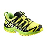 Salomon XA PRO 3D J, Zapatillas de Trail Running Unisex Niños, Amarillo (Corona Yellow/Granny Green/Black), 38 EU