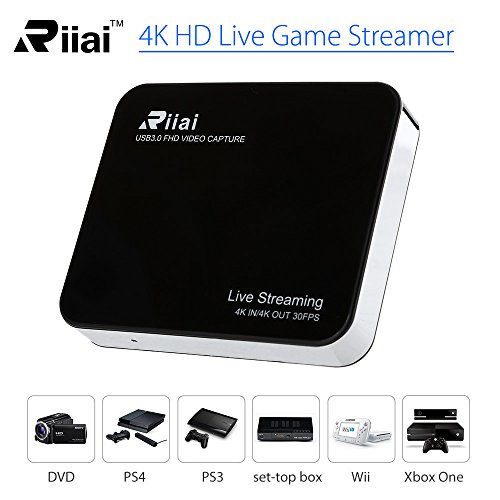 Live Streaming Box Mini USB 3 0 4K HD Game Capture Card