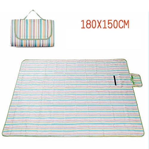 TYJ Picknick-Decken Feuchtigkeitsfeste Pad Picknickmatten Sommer Oxford Tuch Wasserdichte Spring Tour Teppich Outdoor ( größe : 180*150cm )