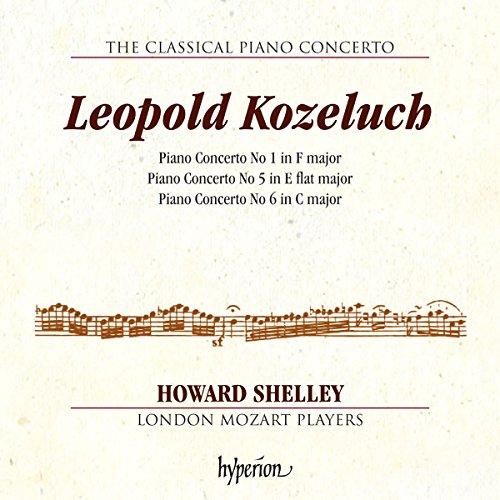 Kozeluch: Das klassische Klavierkonzert Vol. 4 // The Classical Piano Concerto - 4