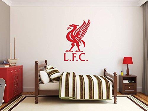 d Liverpool Fußball Club Abzeichen Emblem Vinyl Wandkunst Aufkleber Bild. Premier League Fußballverein Livepool FC. (Alles über Mich-kindergarten)