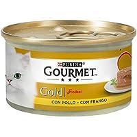 Purina Gourmet Gold Fondant Comida para Gatos con Pollo 24 x 85 g