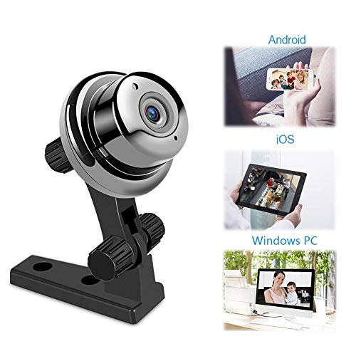 720P Home WiFi Security Camera Motion Detection mit Night Vision 2-Way Audio Compatible mit iOS/Android für Baby/Elder ()