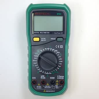 MASTECH MY64 Multimètre numérique AC/DC Testeur mesureur de tension courant capacité résistance avec Diode