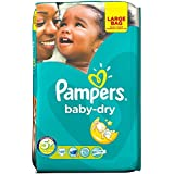 Pampers Baby Taille Sec 5 + Junior Plus 13-27Kg (48)