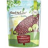 Food to Live Frijoles adzuki para germinar, (8 onzas)
