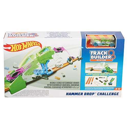Hot Wheels fll01 – Track Builder abbatti el martillo – Pista para coches