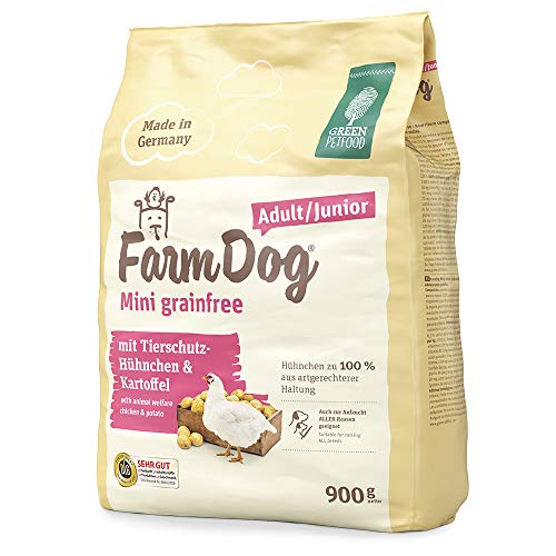 Green Petfood Farm Dog Mini grainfree 5x900g