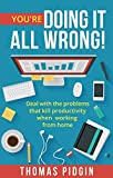 You're Doing It All Wrong!: Deal with the problems that kill productivity when working from home.
