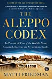 Image de The Aleppo Codex: In Pursuit of One of the World's Most Coveted, Sacred, and Mysterious Books (English Edition)