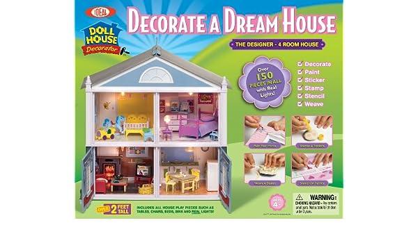 Ideal Designer Dollhouse: Amazon.co.uk: Toys & Games on microsoft house designer, home designer, lego building,
