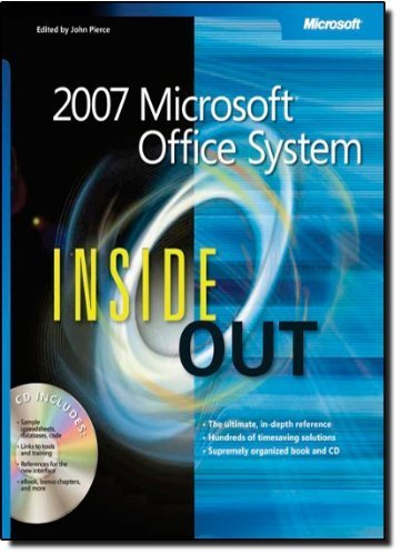 2007 Microsoft® Office System Inside Out (Bpg-Inside Out) by Microsoft Corporation (2007-03-22)