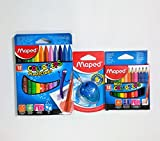 Bundle of one Pack of Maped Color Pencils - Best Reviews Guide