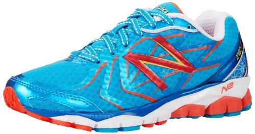 New Balance Athletic Sandalen (New Balance W1080 B V4 355281-50 Damen Laufschuhe, Mehrfarbig (BW4 BLUE/WHITE 5), EU 38 (US 7.5))