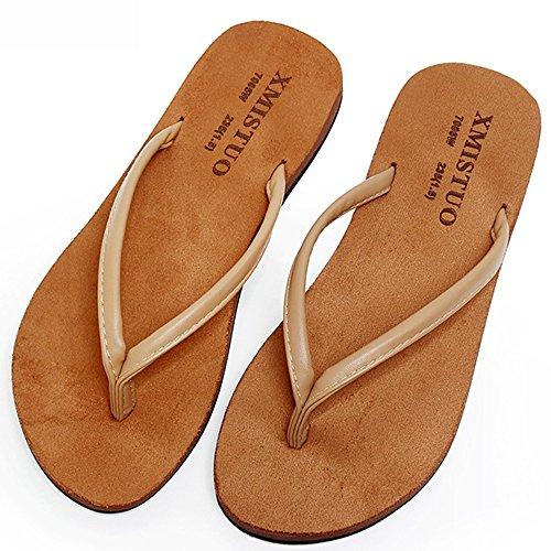 Estate coppia antiscivolo piatte belle sandali pizzico scarpe da spiaggia ( Colore : 3 , dimensioni : EU42/UK8.5/CN43 ) 2