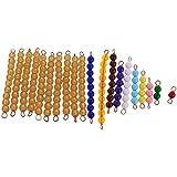Gazechimp Montessori Juguetes Educativos de Matemáticas 1-10 Bolas