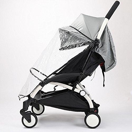 Copertura antipioggia per passeggino universale, di Baby Carriages antivento vento di buona qualità prezzo basso Dust Shield Baby Strolller Rain Coat car-covers Half Style