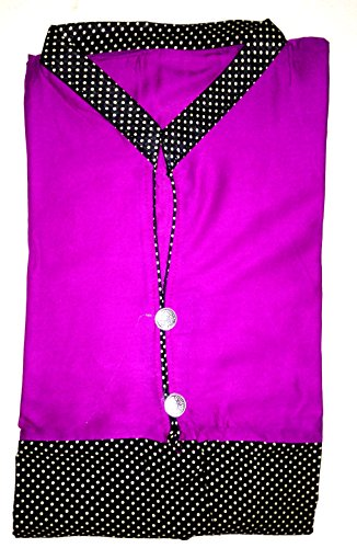 Kanchan Women's Cotton 3/4 Sleeves Kurti, L Size, For Girls & Women