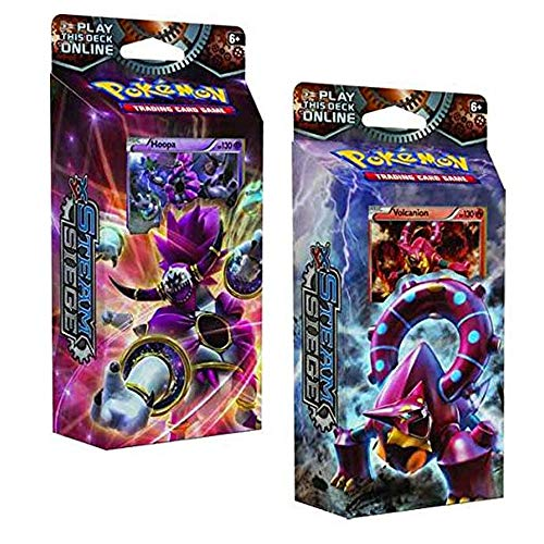 Pokémon POC379 XY Steam Siege Ring of Lightning Hoopa Theme Deck: 60 Trading Cards - Deck Ring