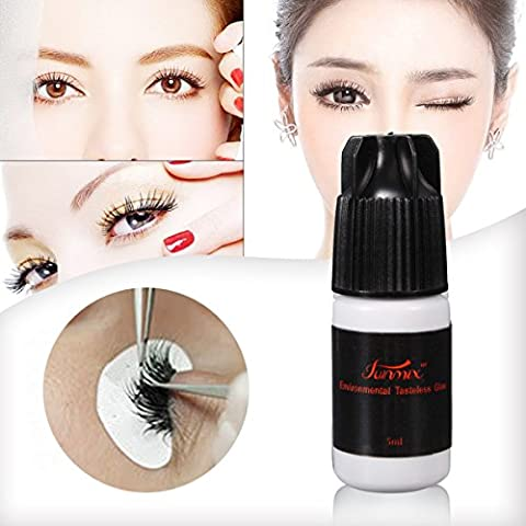 Bluelover 5Ml Pro Eyelash Extension Pas D'Odeur Non-Irritation Greffage False Eyelash Adhesive Glue