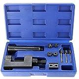BIYM Ensemble d'outils de dissipateur de rivetage de séparateur de riveteuse de maillon de chaîne de Moto/VTT/Tondeuse