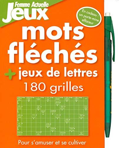 180 Mots fléchés & jeux de lettres par Collectif