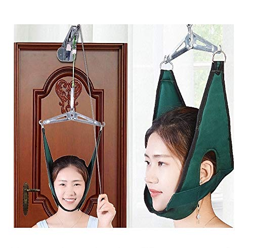 Dispositivo de tracción Cervical Unidad de tracción Cervical Kit Cuello Hamaca Masaje Dispositivo...
