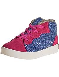 Little Blue Lamb - Zapatos de suela de goma blanda niñas | Zapatillas de deporte terciopelo de color rosa azul