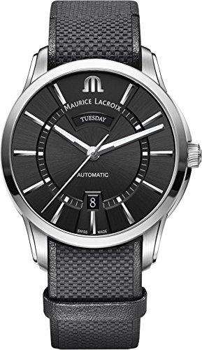 Maurice Lacroix PONTOS DAY DATE PT6358-SS001-330-2 Automatic Mens Watch Classic & Simple