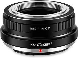 K F Concept M42 Nik Z Bajonettadapter Objektiv Ring Für Elektronik