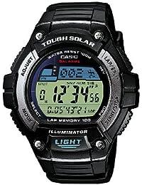 Casio CASIO Collection Men - Reloj digital de caballero de cuarzo con correa de resina negra (alarma, cronómetro, luz) - sumergible a 100 metros