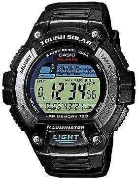 Casio Herren Digital mit Resin Armbanduhr W S220 1AVEF